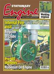 Stationary Engine issue No. 514 Internal Fire visit Register Of Clubs