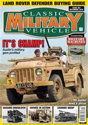Classic Military Vehicle issue December 2016