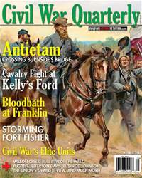 Civil War Quarterly issue Winter 2017