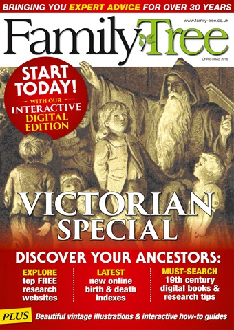 Family Tree issue Family Tree Christmas 2016