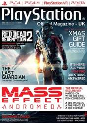 Playstation Official Magazine (UK Edition) issue Christmas 2016