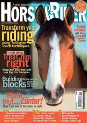 Horse&Rider Magazine - UK equestrian magazine for Horse and Rider issue November 2010