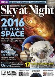 BBC Sky at Night Magazine issue December 2016