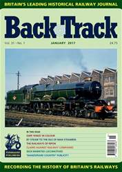 Backtrack issue January 2017