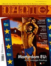DANTE Dec-Jan 2016-17 issue DANTE Dec-Jan 2016-17