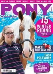 PONY magazine – January 2017 issue   PONY magazine – January 2017