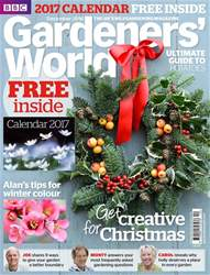 Gardeners' World issue January 2017