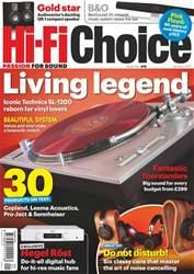 Hi-Fi Choice issue January 2017