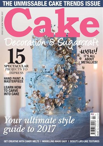 Cake Decoration Amp Sugarcraft Magazine New Trends 2017