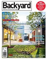 Backyard & Garden Design Ideas issue Issue#14.4 2016