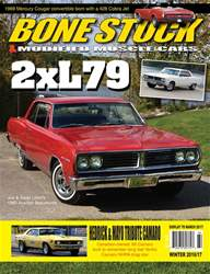 Bone Stock issue BONE STOCK & MODIFIED MUSCLE CARS WINTER 2016/17