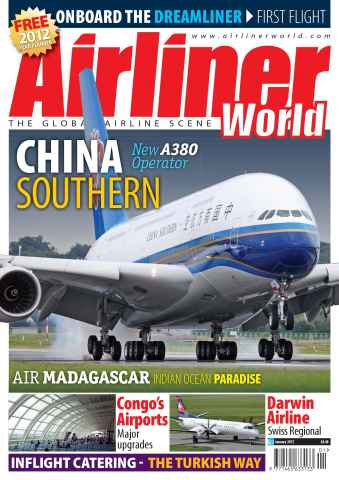 Airliner World issue January 2012