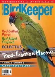 Australian Birdkeeper Magazine issue BirdKeeper Vol 29 Iss 6