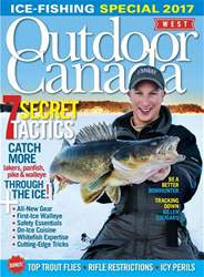 Outdoor Canada issue Ice Fish Spec West 2017