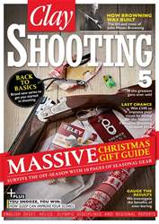 Clay Shooting issue December 2016