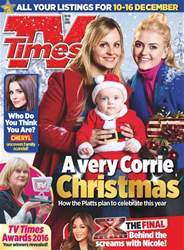 TV Times issue 10th December 2016