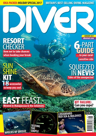 DIVER issue JANUARY 2017