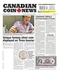 Canadian Coin News issue V54#19 - December 27