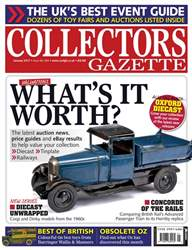 Collectors Gazette issue January 2017