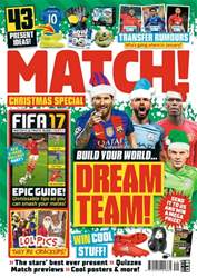 Match issue 6th December 2016