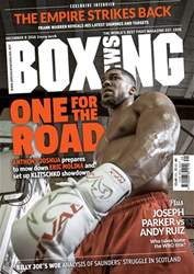 Boxing News International issue 06/12/2016