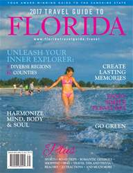 2017 Travel Guide to Florida issue 2017 Travel Guide to Florida