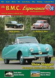 BMC Experience issue Issue 20: January to March 2017