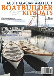 Australian Amateur Boat Builder issue Jan/Feb/Mar 2017