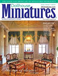 Dollhouse Miniatures issue Issue 55