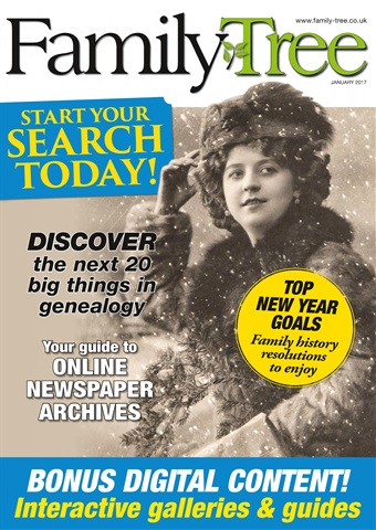 Family Tree issue Family Tree January 2017