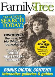 Family Tree January 2017 issue Family Tree January 2017