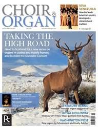 Choir & Organ Magazine Cover