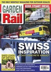 Garden Rail issue January 2017