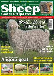 Smallholding issue No.15 Wool & Fleece In The Winter?