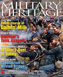Military Heritage issue January 2017
