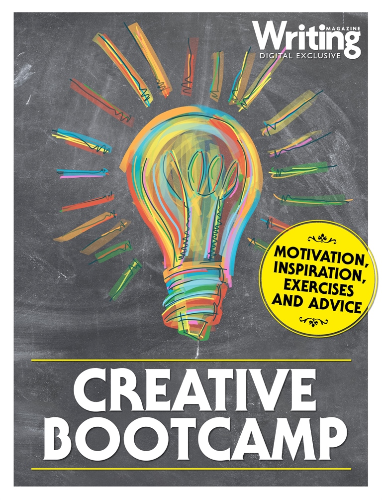 Writing Magazine issue Creative Bootcamp