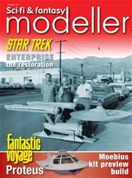 Sci-Fi and Fantasy Modeller Magazine Cover