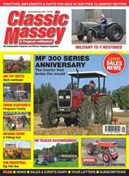 Classic Massey issue No. 66 MF 300 Series Anniversary