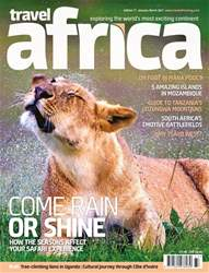 Travel Africa issue Travel Africa