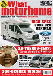 What Motorhome issue February 2017
