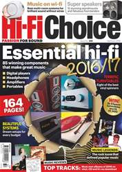 Hi-Fi Choice issue Yearbook 2016
