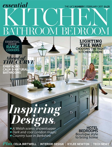 Title Cover Preview Essential Kitchen Bathroom Bedroom Preview. Essential Kitchen Bathroom Bedroom Magazine   February 2017