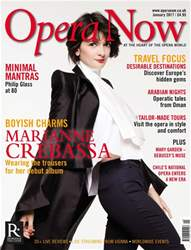 Opera Now issue January 2017