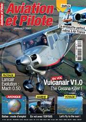 Aviation et Pilote issue January 2017