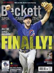 Sports Card Monthly issue January 2017