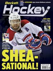 Beckett Hockey issue January 2017