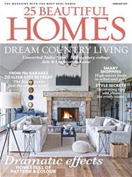 25 Beautiful Homes issue February 2017