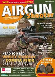 Airgun Shooter issue February 2017