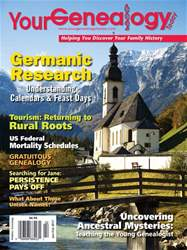 Your Genealogy Today issue Jan-Feb 2017