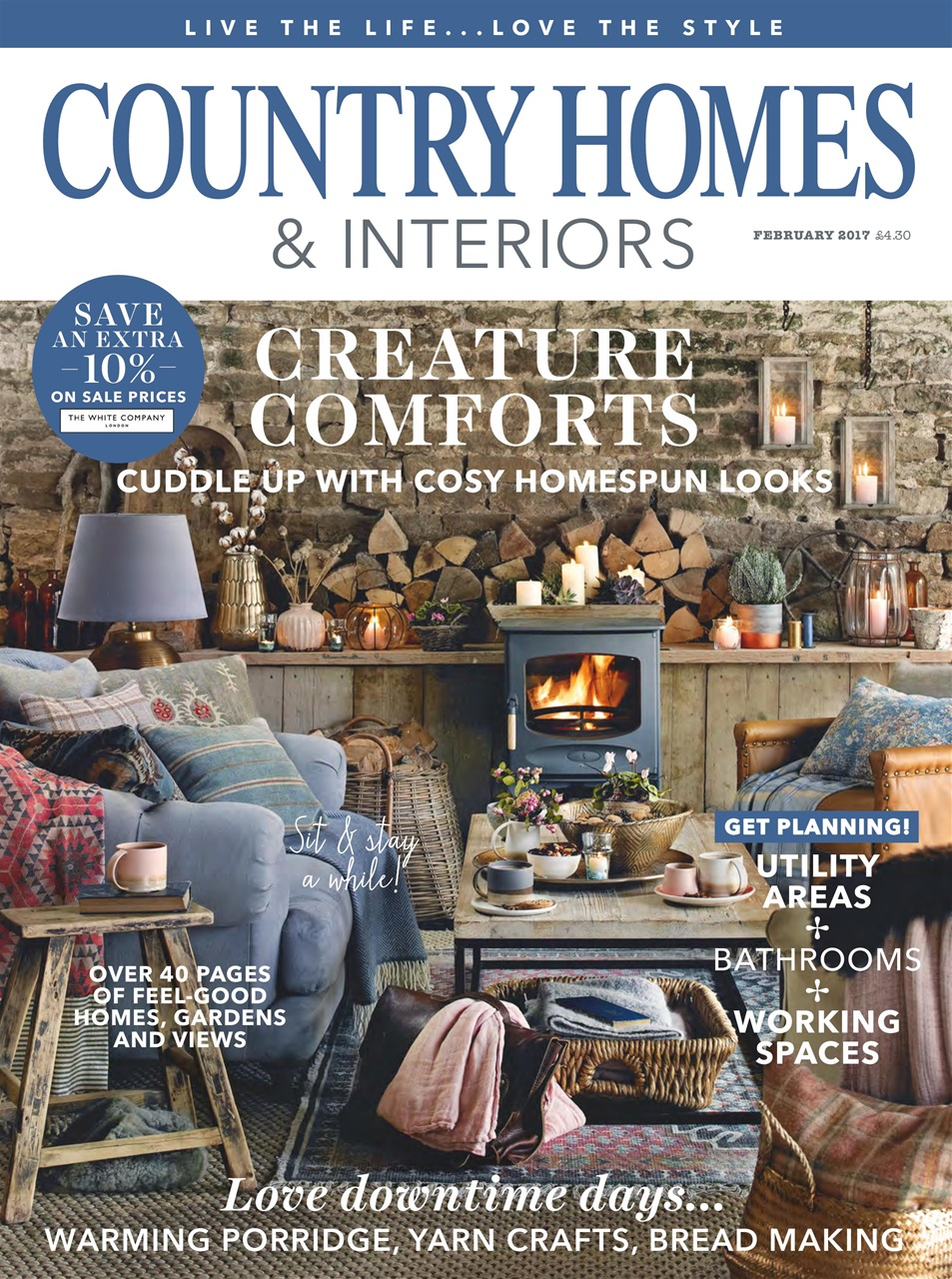 Country Homes Interiors Magazine February 2017 Subscriptions Pocketmags